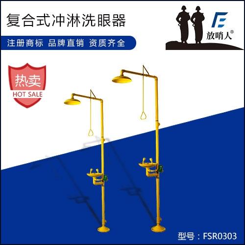 安庆FSR0303复合式冲淋洗眼器