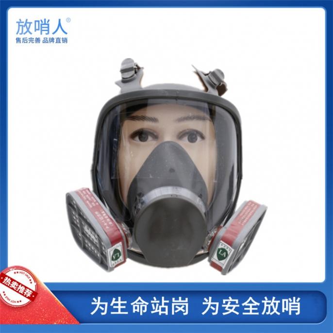蚌埠FSR0421防毒面罩 防毒全面具